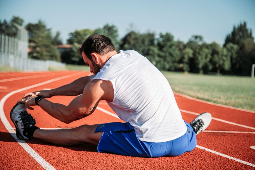 stretch muscles safely
